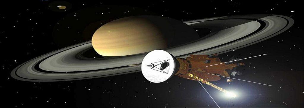 Cassini Satellite - Calmont cable inside
